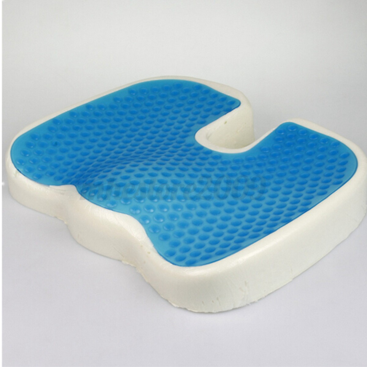 coccyx orthopedic gel enhanced comfort memory foam seat cushion car travel ebay. Black Bedroom Furniture Sets. Home Design Ideas