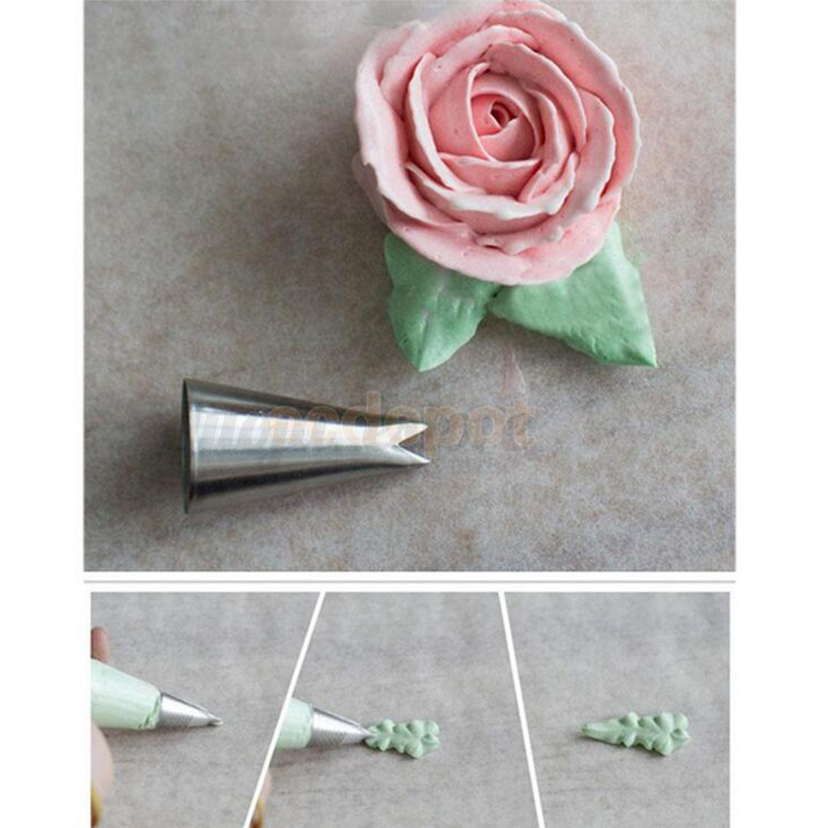Cake Decorating Leaf Tips : 7PCS/Set Russian Leaf Shape Icing Piping Nozzles Pastry ...