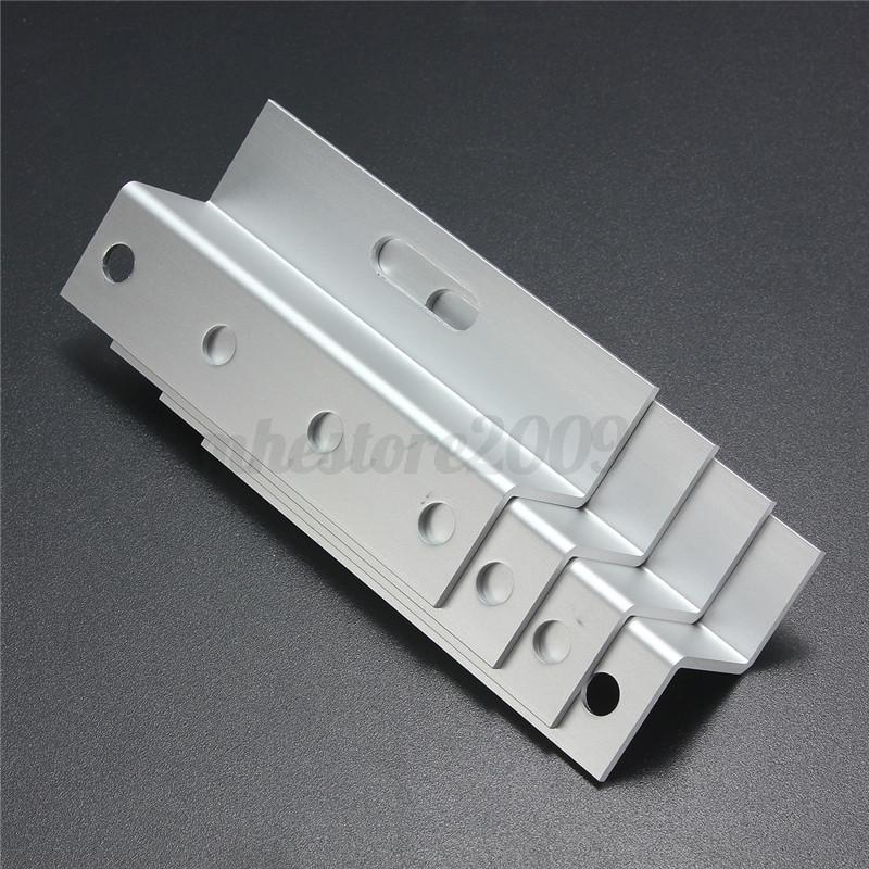 4pcs Solar Panel Mounting Flat Roof Wall Aluminum Z