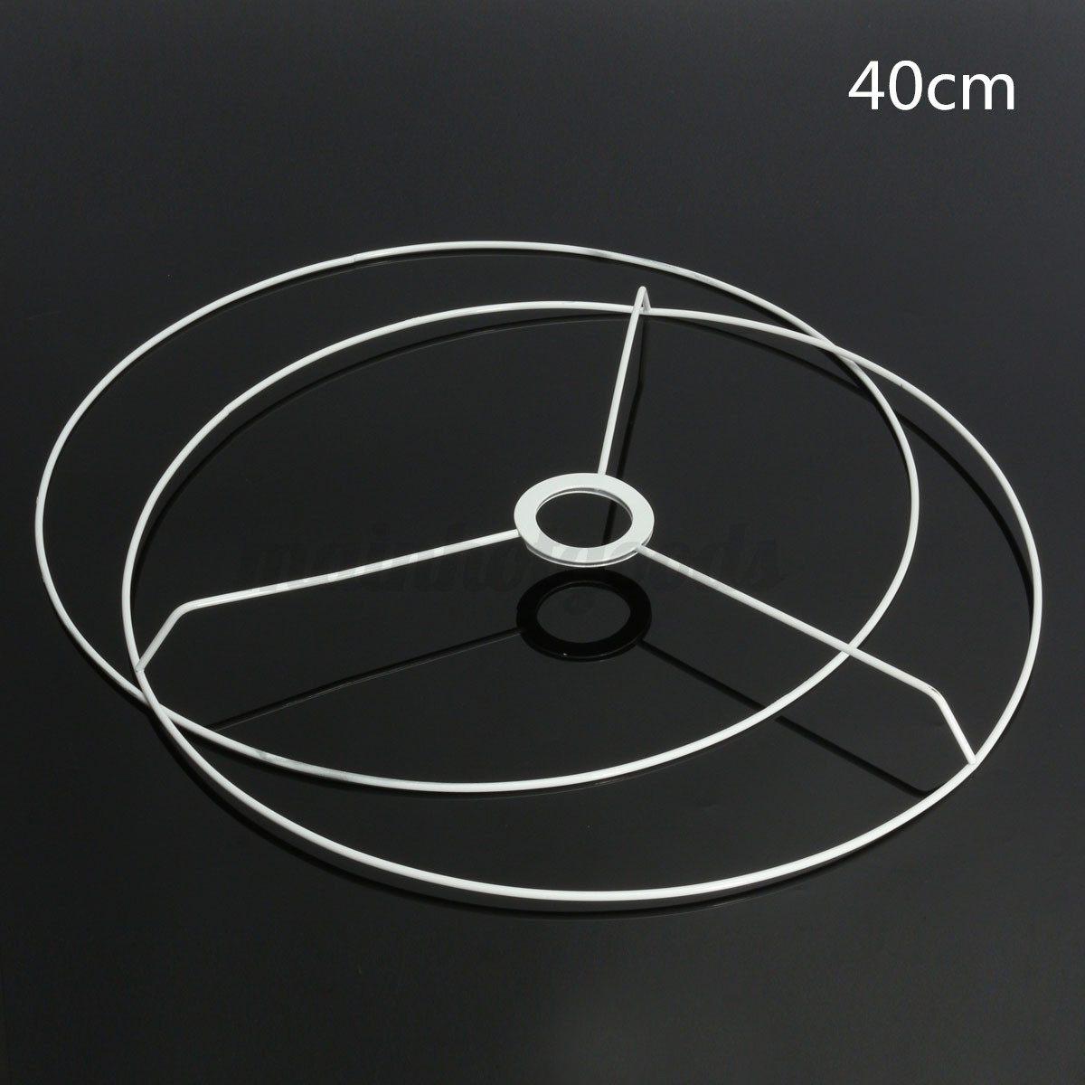 Lampshade frame ebay uk circular lampshade frame ring lamp light shade diy making kit 95 40cm dia keyboard keysfo Image collections