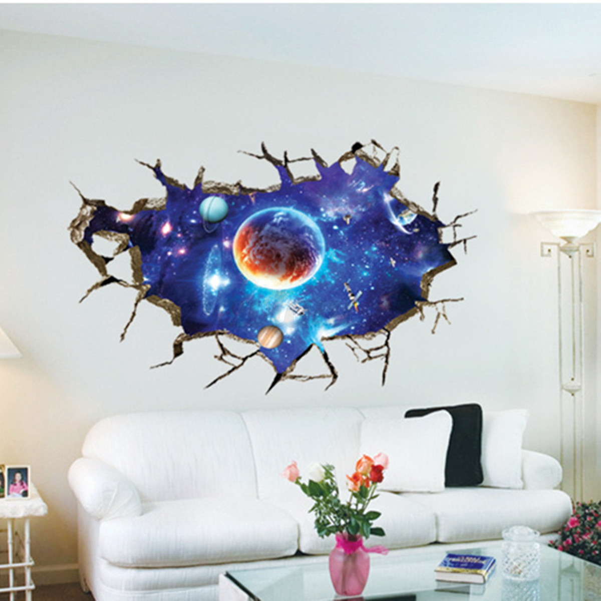28 outer space wall murals pics photos wall mural galaxy outer space wall murals 3d planet outer space wall stickers home decor mural art