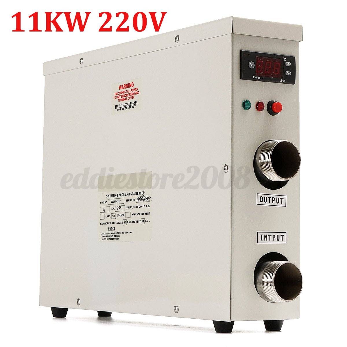 11kw 220v Electric Hot Water Heater Thermostat For