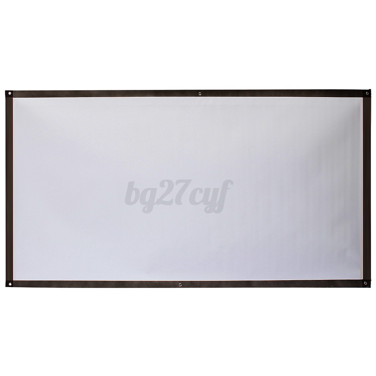 how to make a black projector screen