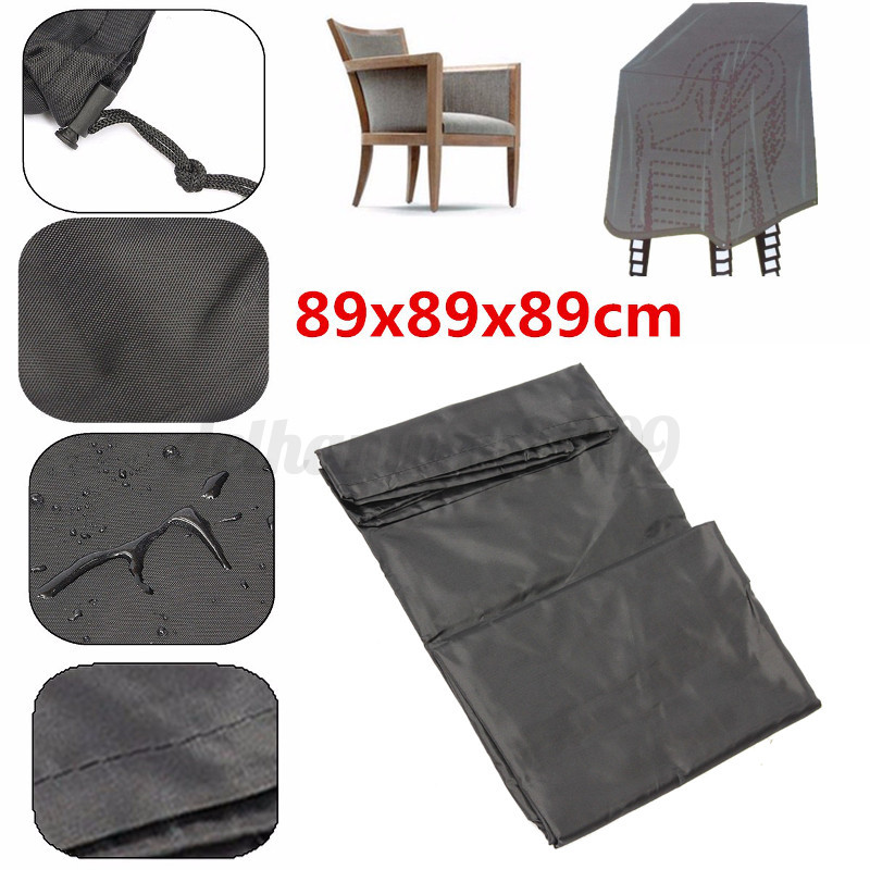 Waterproof Chair Cover For Outdoor Garden Patio Furniture Dust Rain Protection
