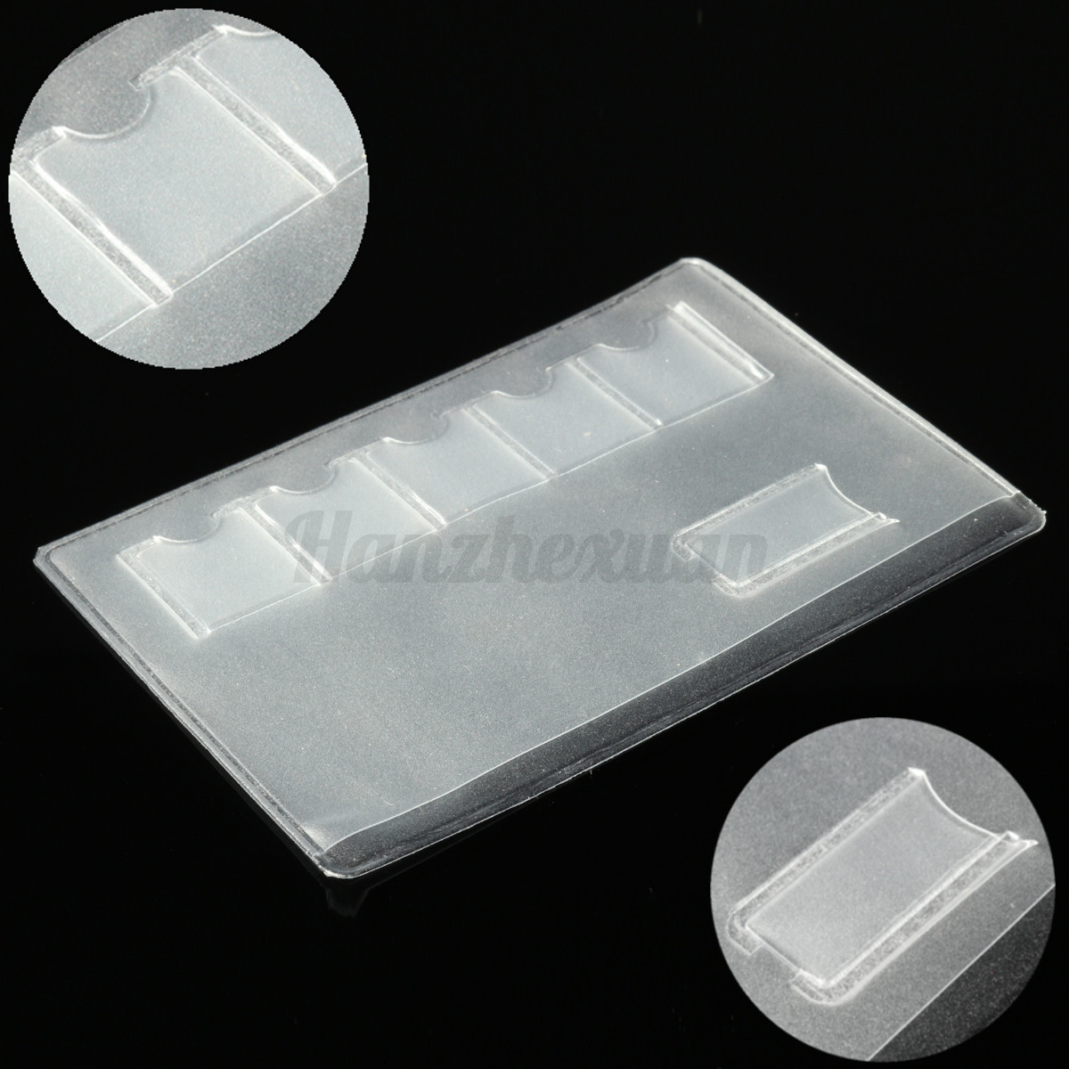 SIM Card Storage Case For Nano & iPhone Eject Pin Credit Card Holder  !