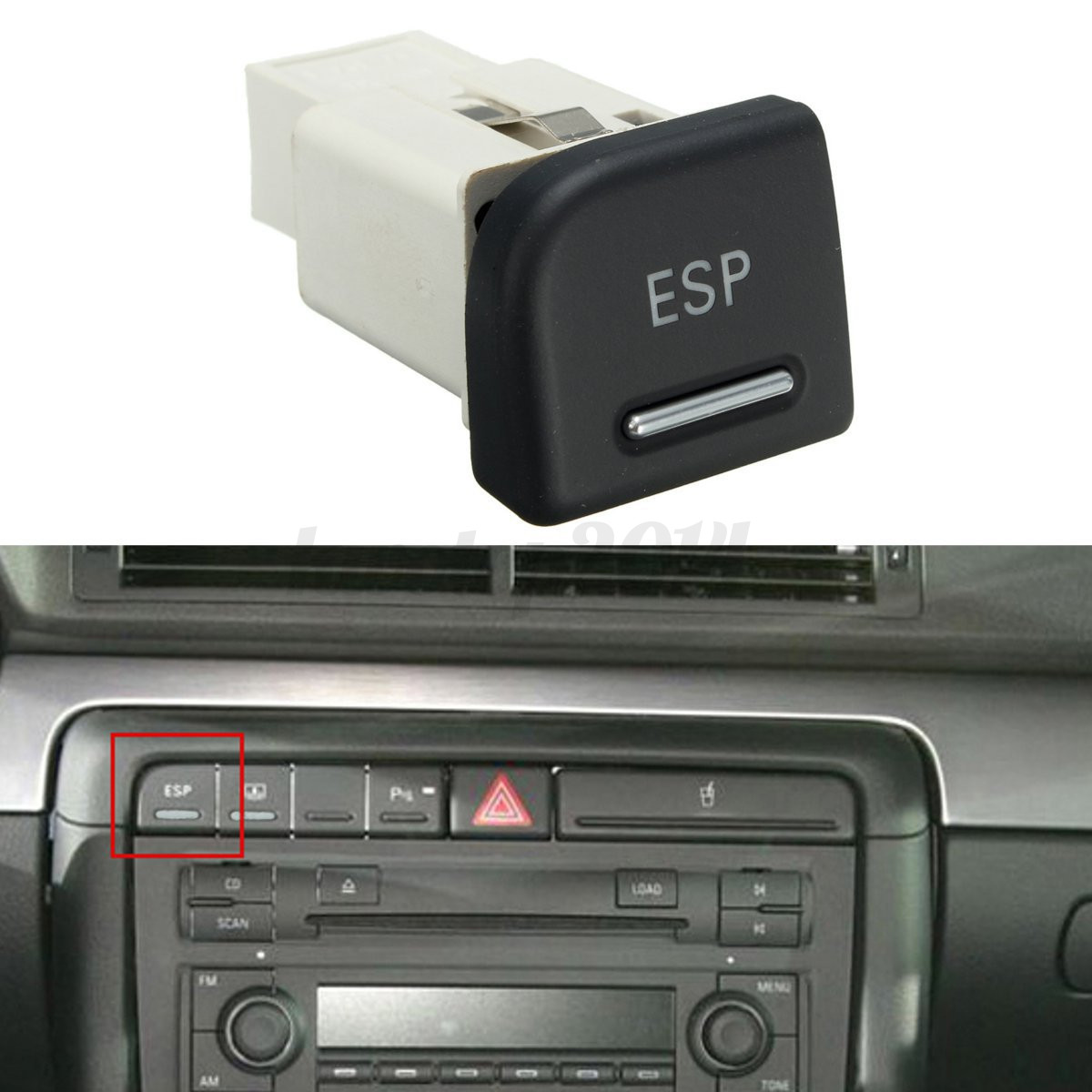 bouton esp interrupteur switch pour audi a4 8e b6 b7 2003 2008. Black Bedroom Furniture Sets. Home Design Ideas
