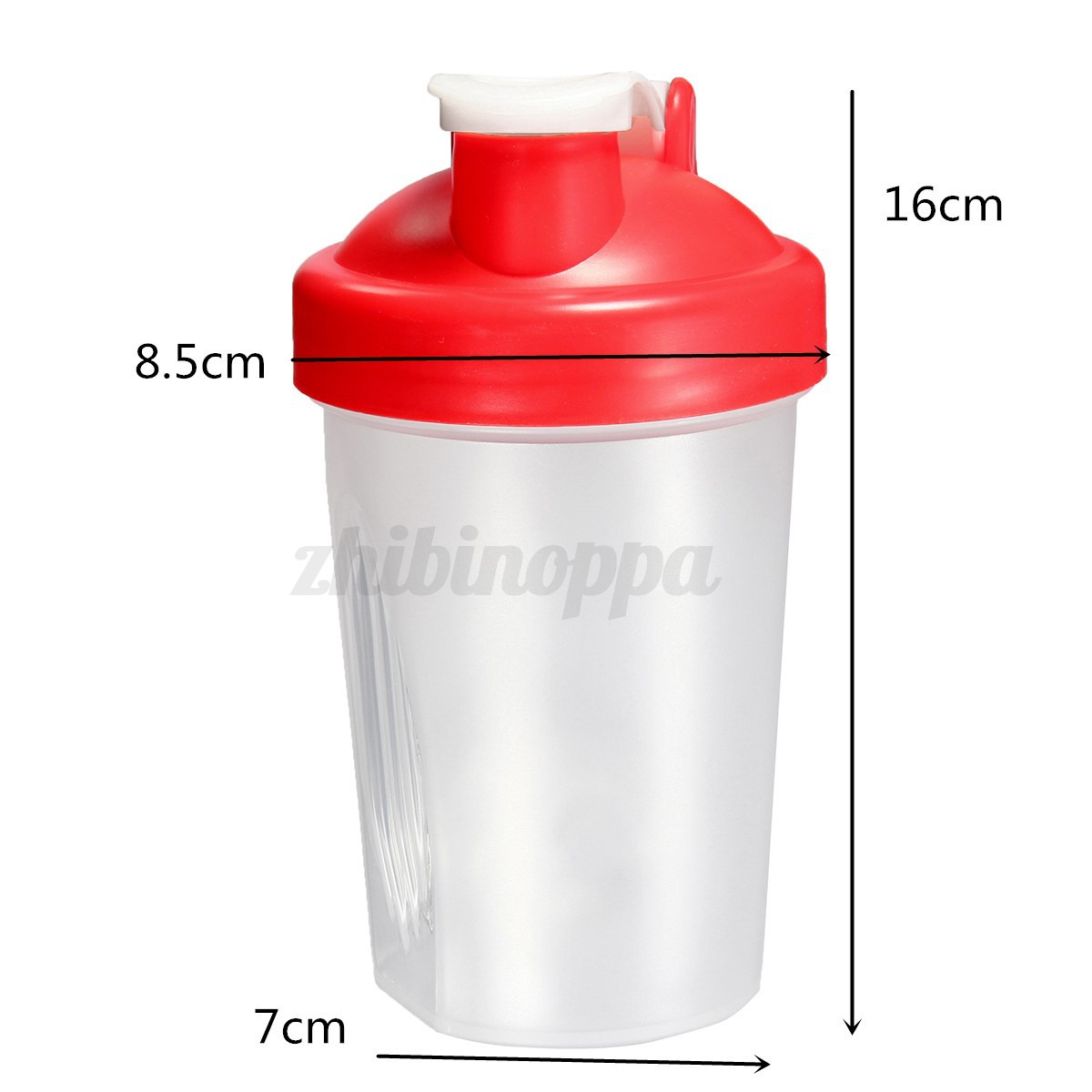 Protein shake mixer cup