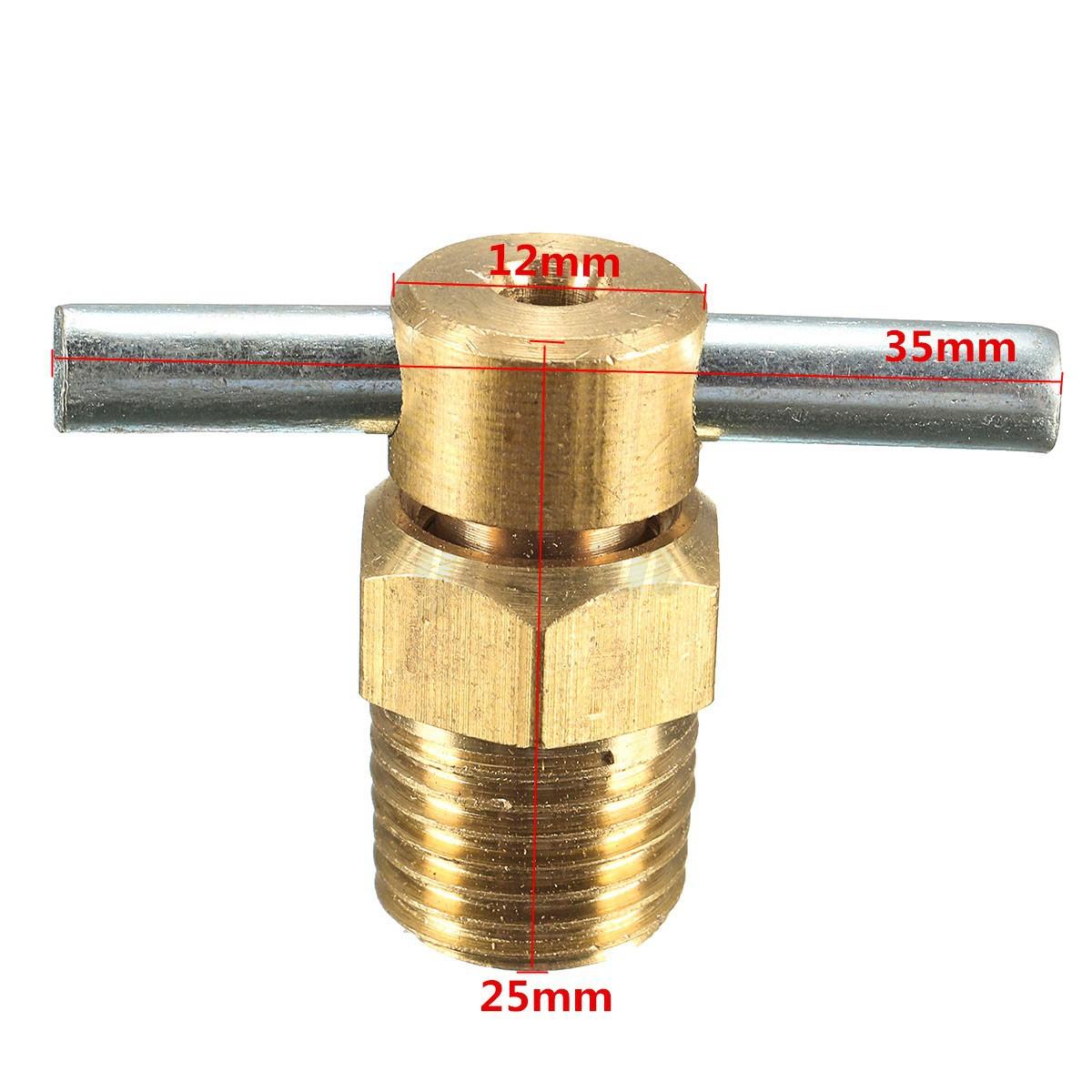 Npt petcock water drain valve for air compressor
