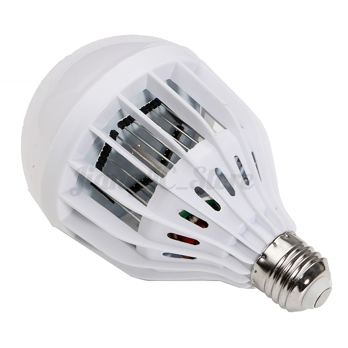 10w 6500k cool white led light bulb zapper mosquito bug insects killer. Black Bedroom Furniture Sets. Home Design Ideas