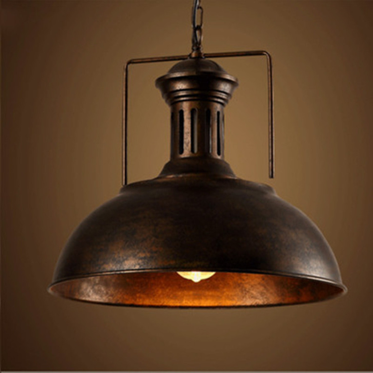 Vintage Industrial Pendant Ceiling Light Fixture Lamp Shades