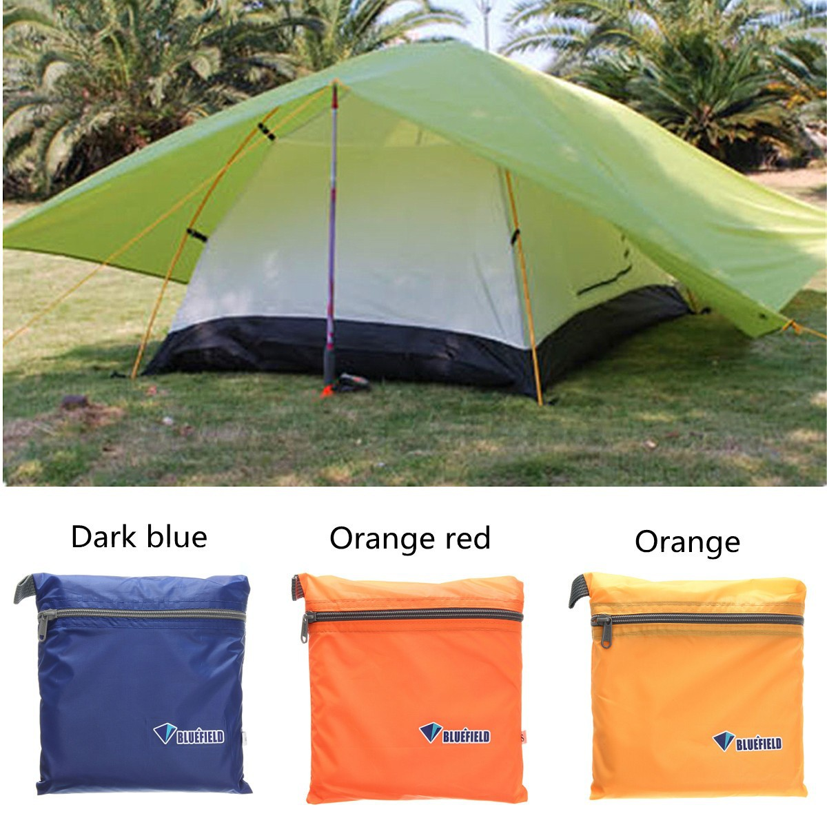 Waterproof Portable Awnings : Outdoor portable camping hiking tent sunshade waterproof