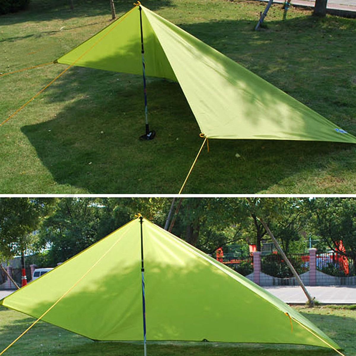 Picnic Canopy Shelter : Portable outdoor camping beach picnic pad cushion canopy