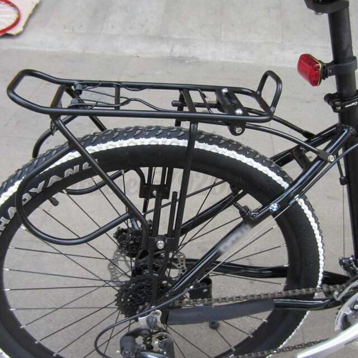 60kg V Disc Brake Bicycle Bike Alloy Rear Rack Carrier