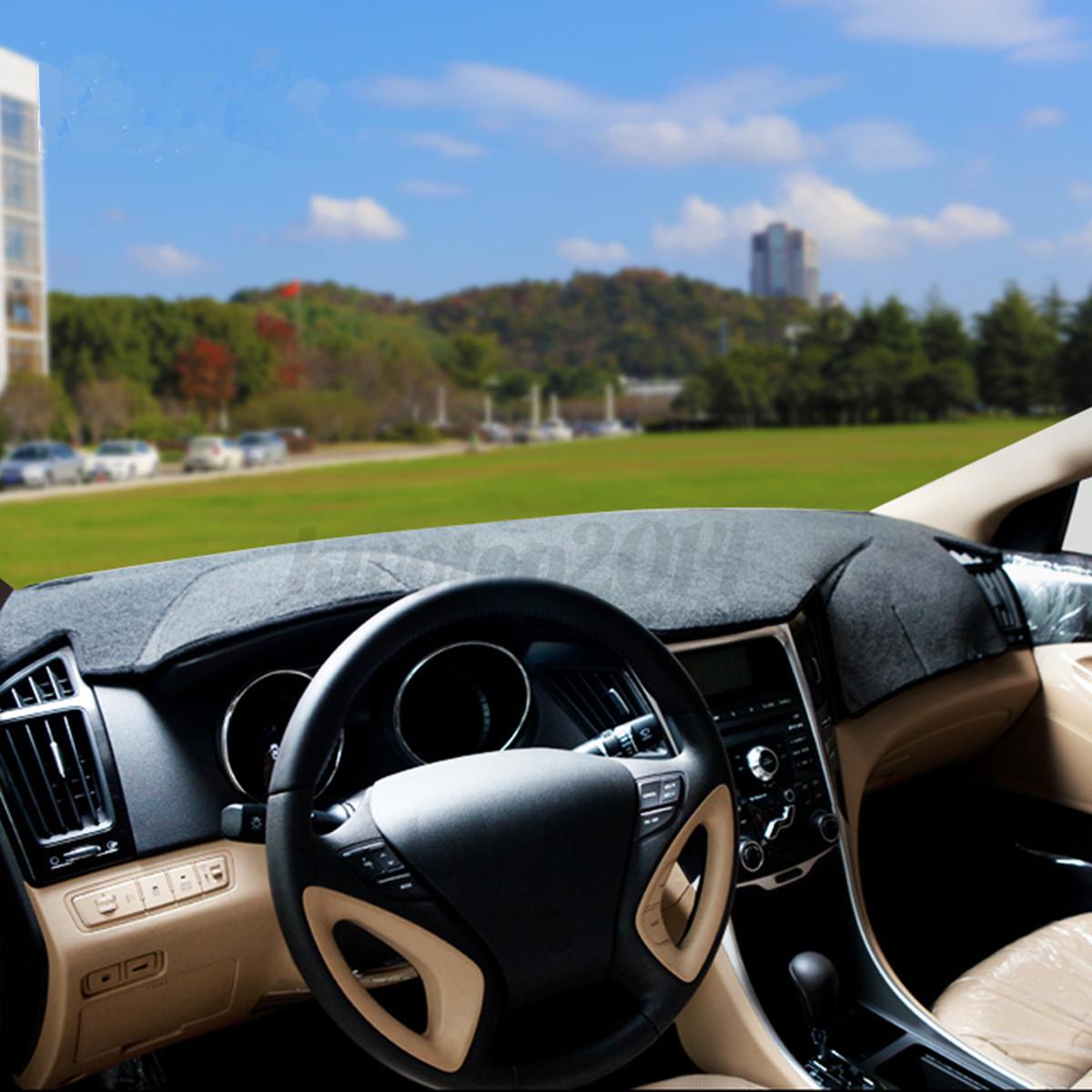 For Hyundai Sonata 2011 2014 Black Dash Mat Dash Mat Dashboard Sun Visor Cover 997673288869 Ebay