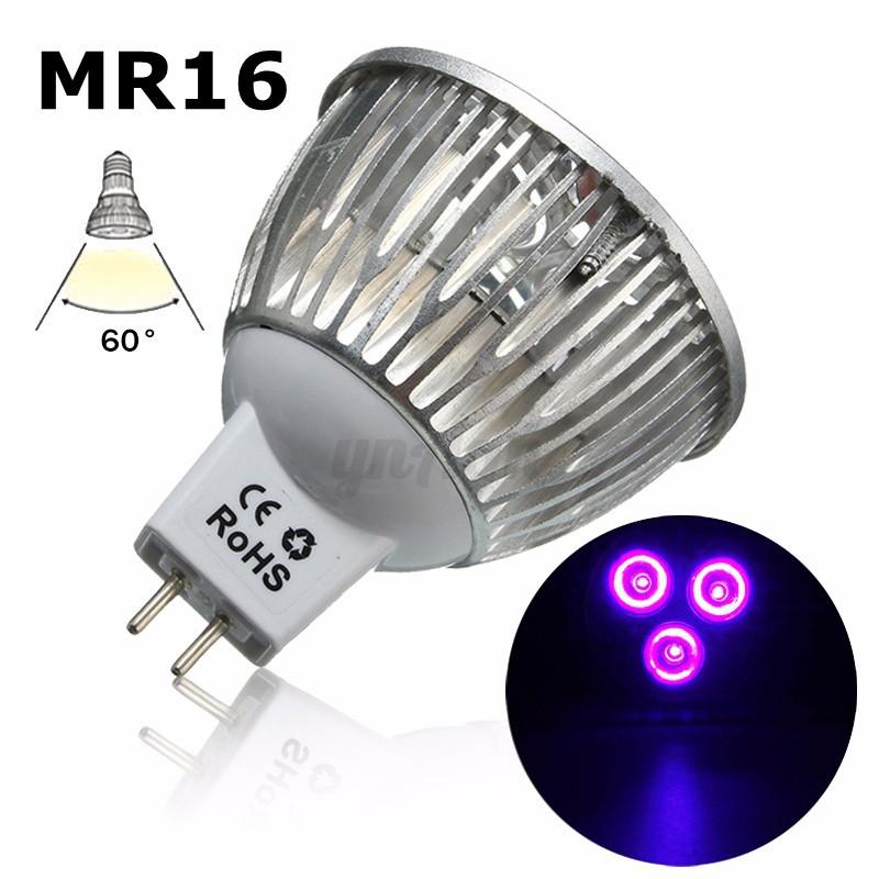 3W-E27-B22-GU10-MR16-LED-UV-Ultraviolet-Pflanzenlicht-Pflanzenleuchte-Grow-Lampe