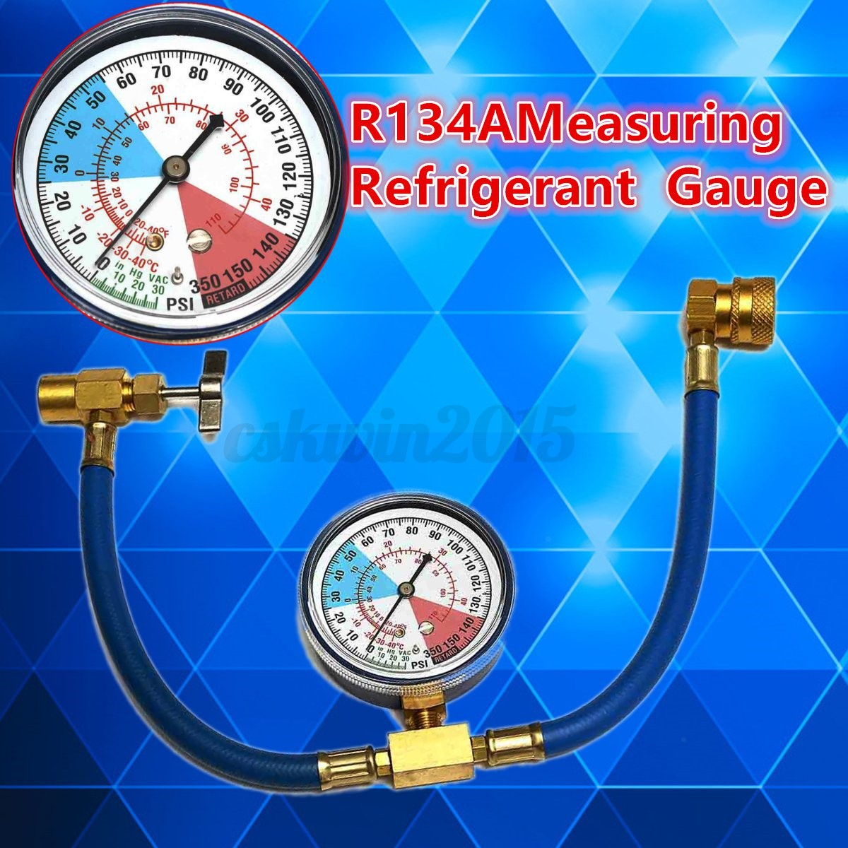 Car Auto Air Conditioning Ac R134a Refrigerant Recharge