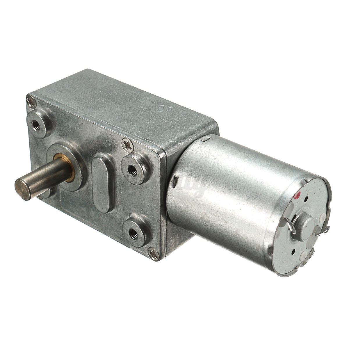 Dc 12v geared motor 0 6rpm low speed high torque turbo for Low speed dc motor 0 5 6 volt