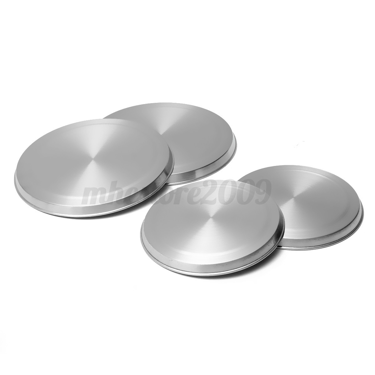 4pcs Set Stainless Steel Kitchen Stove Top Covers Burner