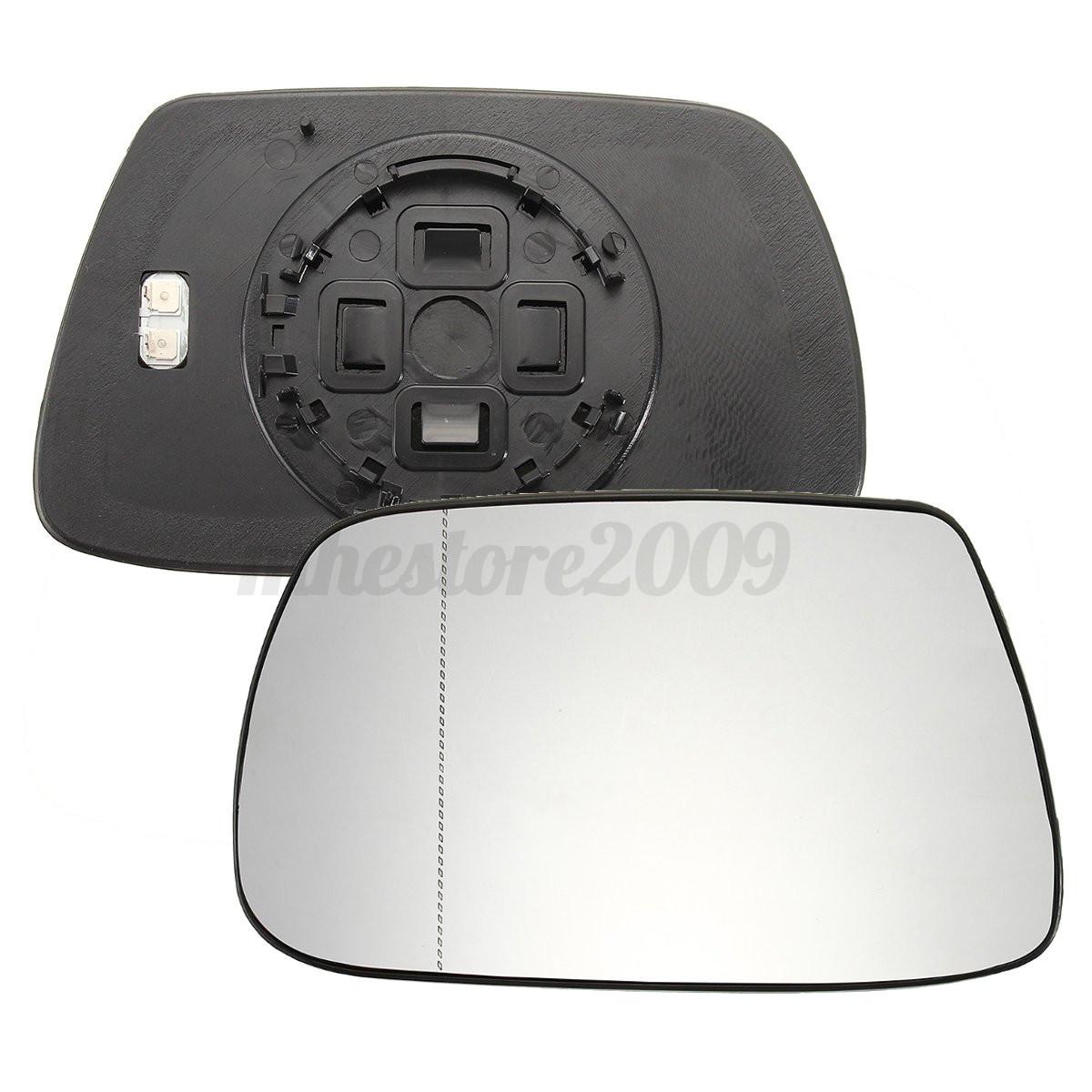Left Passenger Side Heated Mirror Glass for Nissan X-Trail 2007-2013 0142LSH