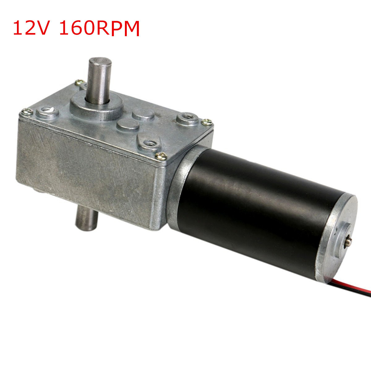 7 type dc 12v high torque turbo turbine worm metal gear for High torque electric motor