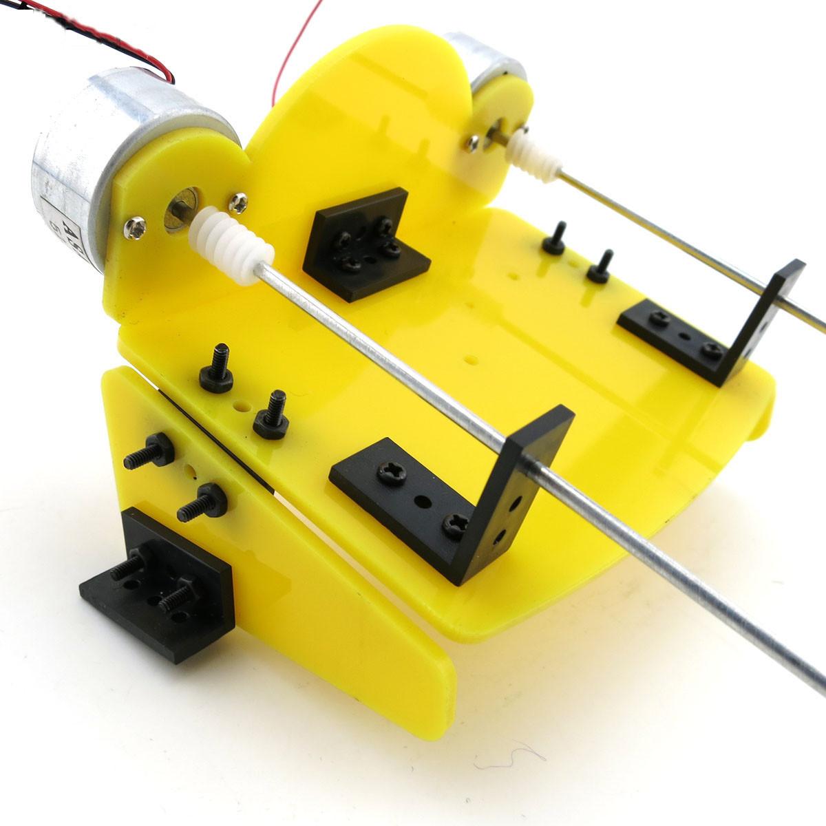 Electric Outboard Motor Kit: DIY Electric Propeller Model Kit Boat Ship Hobby Motor