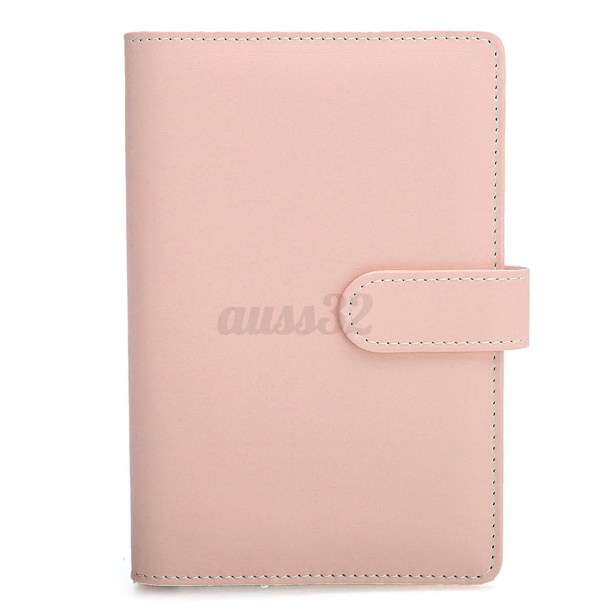 3 Color A5 A6 Loose Leaf Ring Binder Notebook Shell Weekly