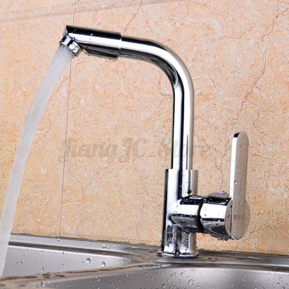 Modern chrome kitchen mixer tap sink basin bathroom water - No water pressure in kitchen sink ...
