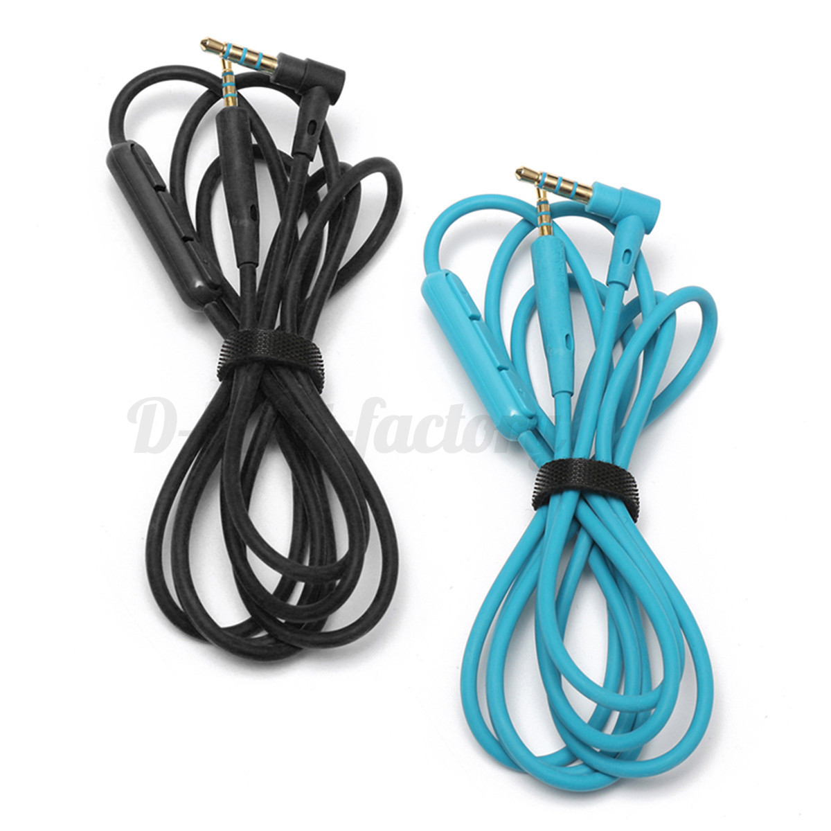 1.3m Audio Cable Extension Wire Cord w/Mic For BOSE QuietComfort ...