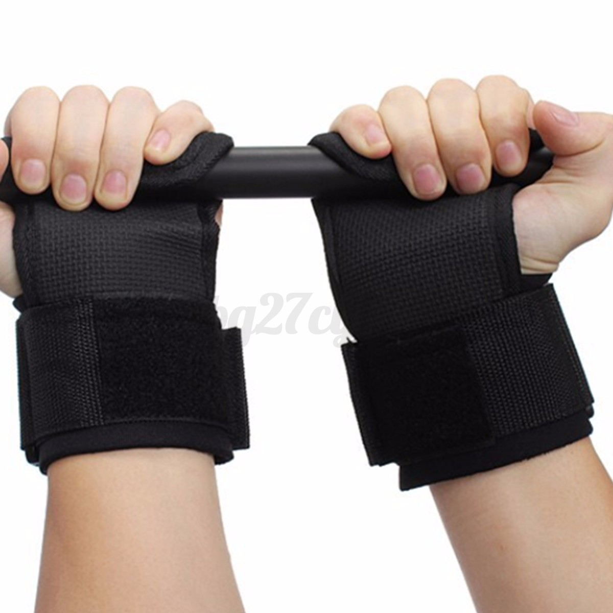 Weight Lifting Wrist Wraps Bandage Support Gloves Gym: Gym Weight Lifting Bar Hand Wrist Support Brace Strap Wrap