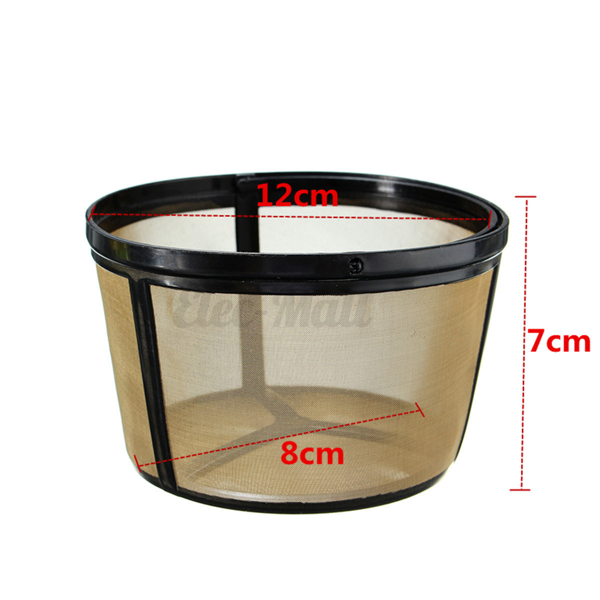 1/2/4PCS Big Size Reusable Permanent Coffee Filter Basket For BUNN Coffee Makers eBay