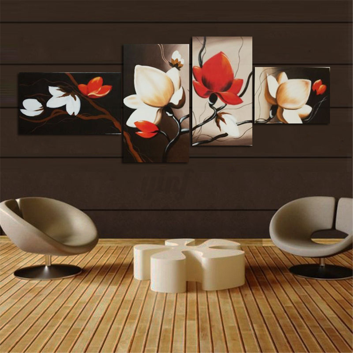 Unframed modern abstract canvas print painting picture for Decoration murale wish