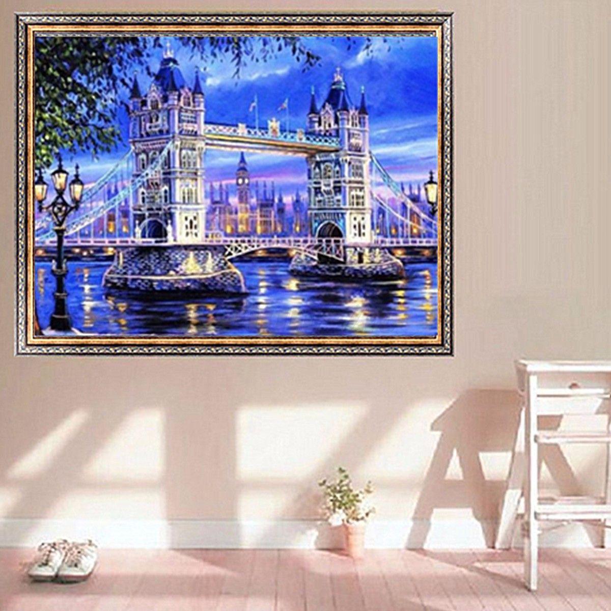 5d diy diamond painting scenery animals embroidery cross for Home decor 5d