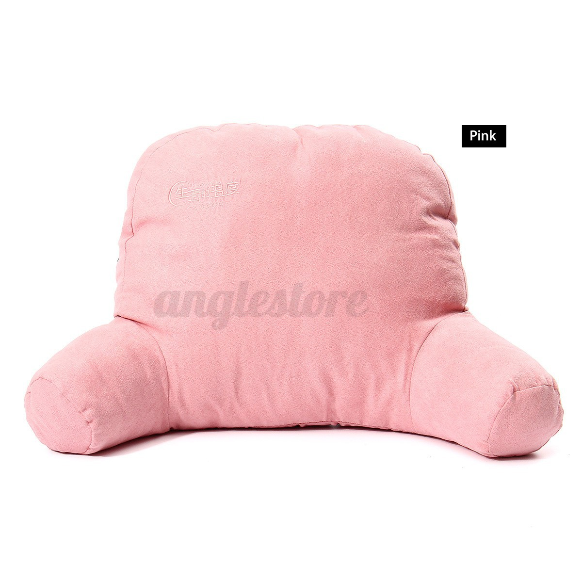 bed rest back pillow arm soft cushion support chair bedroom tv relax reading ebay. Black Bedroom Furniture Sets. Home Design Ideas