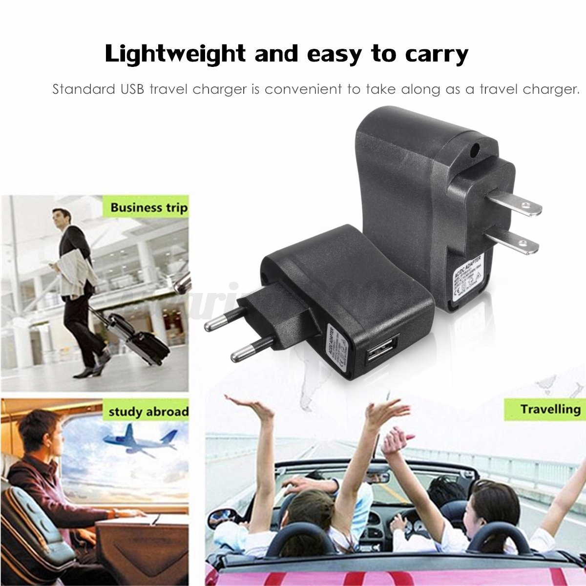 5v 1a usb travel wall charger ac dc adapter charging eu us plug for mobile phone ebay. Black Bedroom Furniture Sets. Home Design Ideas