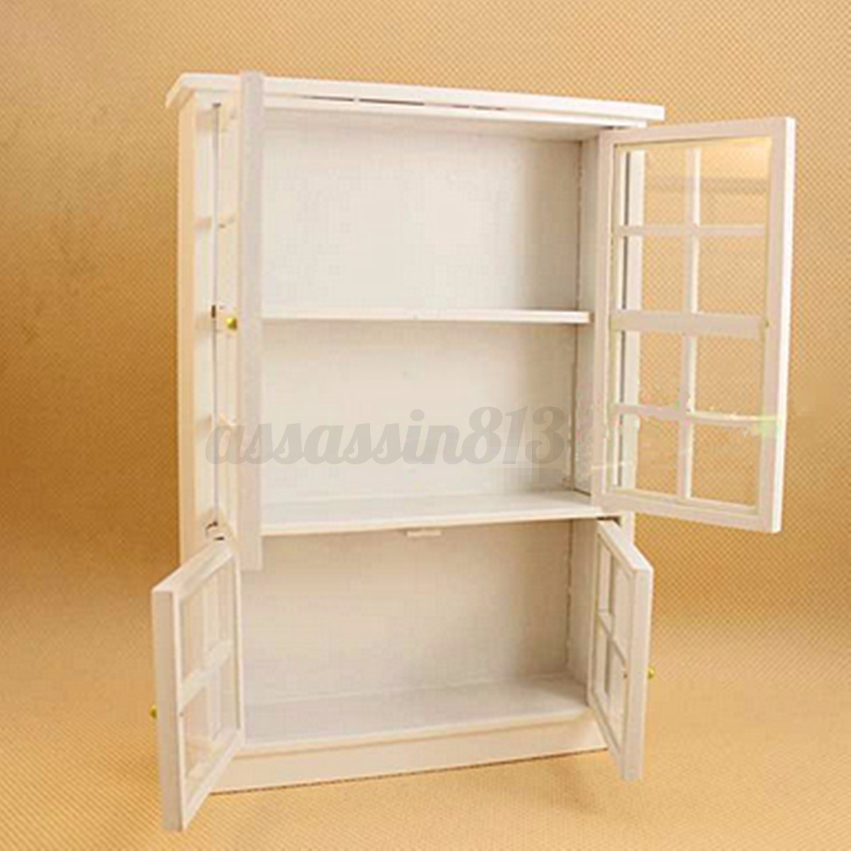 1 12 Dollhouse Miniature Furniture Dining Room Kitchen Cabinet Display Shelf
