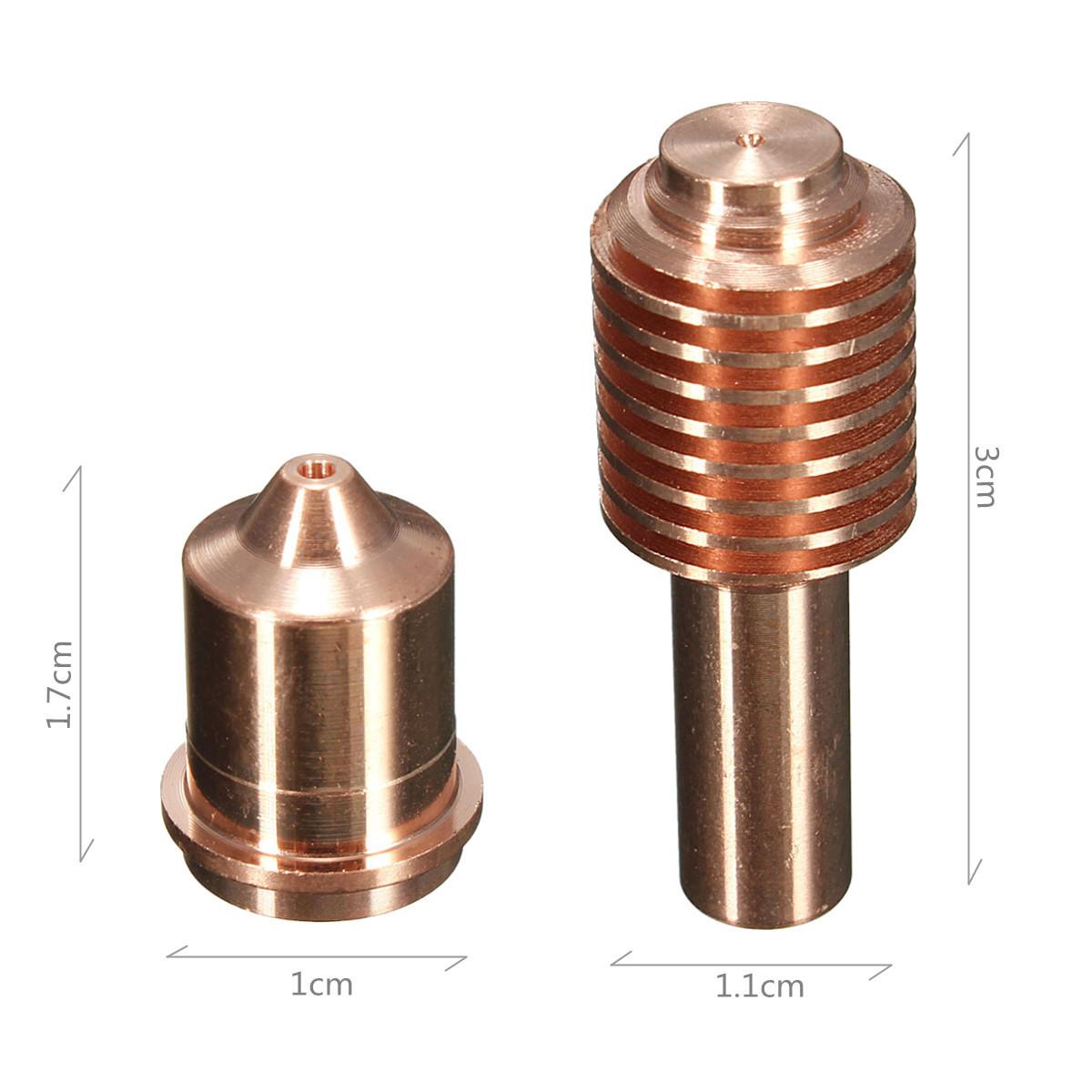 220669 Electrode 45A Each Mechanized Fittings Consumable 40pcs 220671 Nozzle