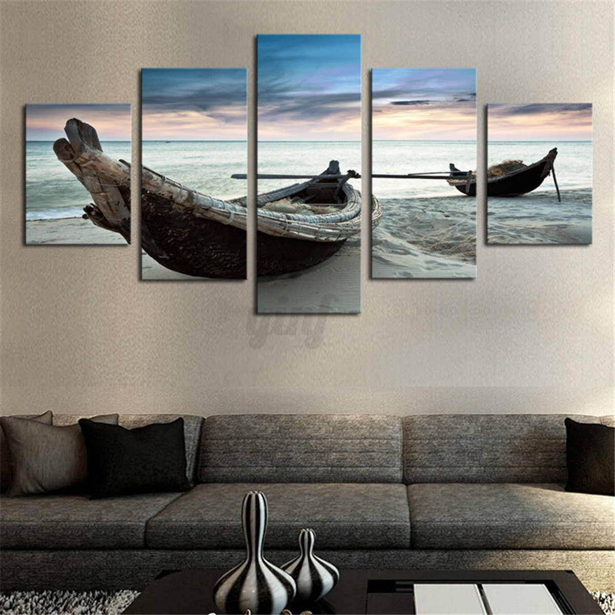 Unframed modern abstract canvas print painting picture for Canvas wall mural