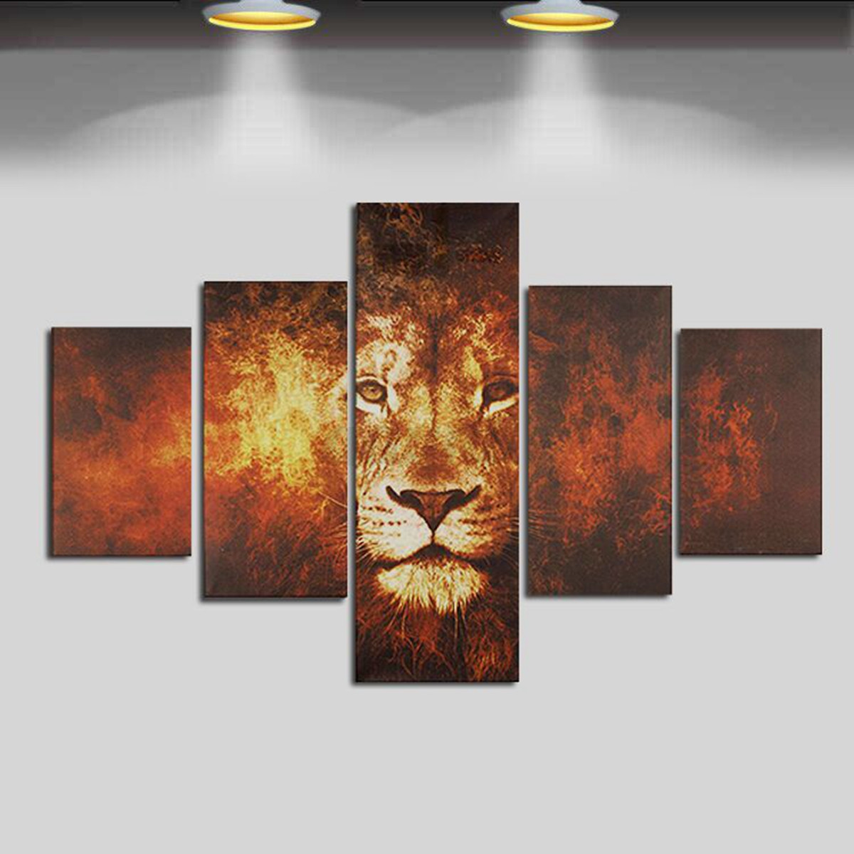 Living room canvas print wall art oil painting picture for Decorative mural painting