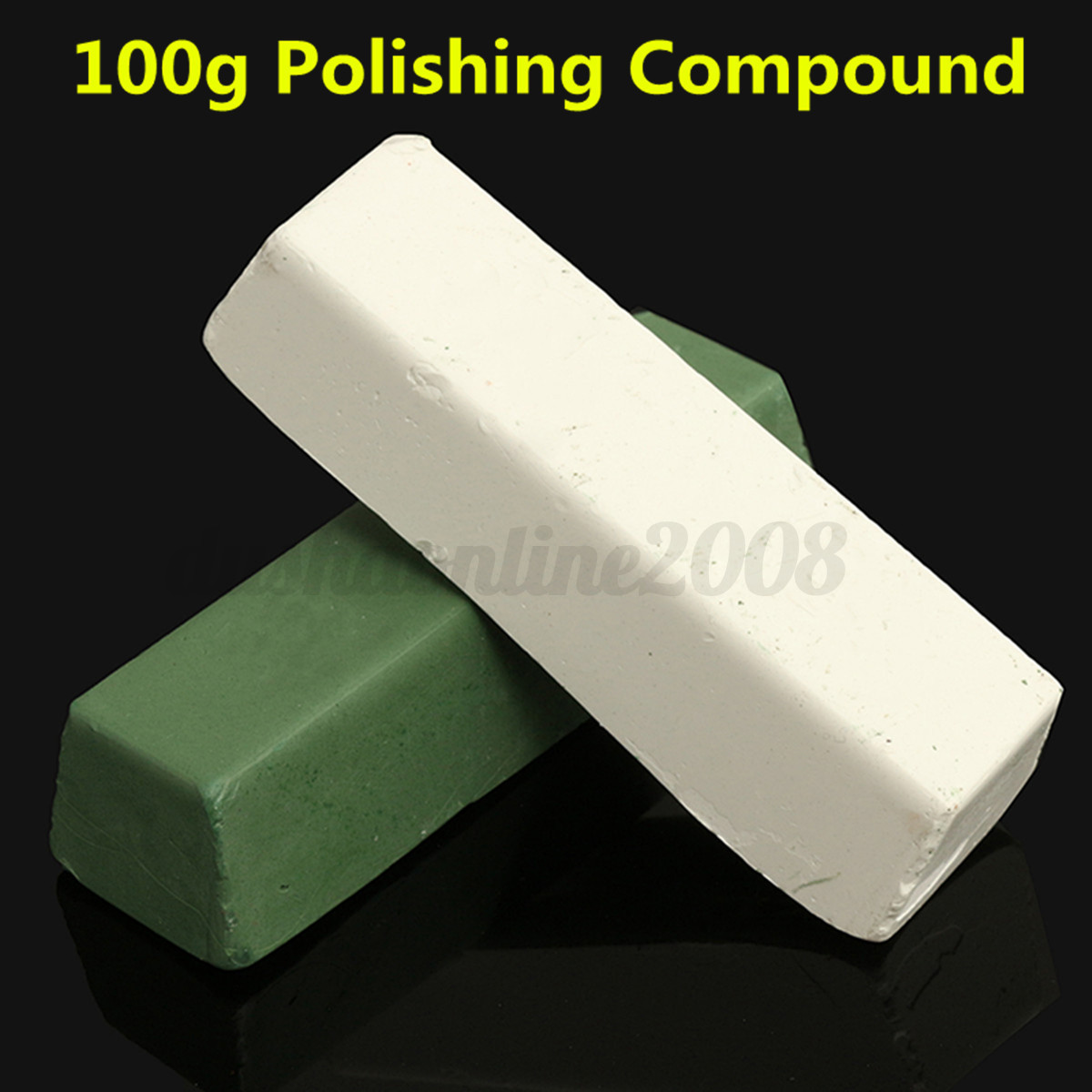 p te polir blanc vert 100g polissage de finition plastique cuivre acier m taux ebay. Black Bedroom Furniture Sets. Home Design Ideas