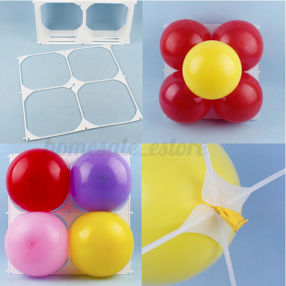Great Balloon Grid For Balloon Wall Decoration Images - The Wall Art ...