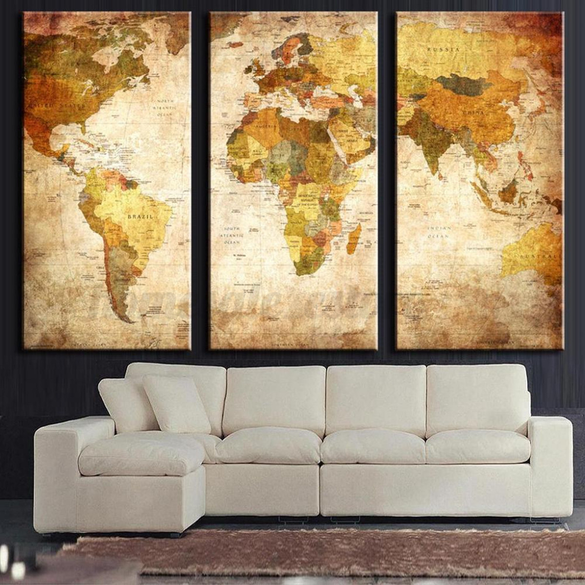 Flower Modern Wall Painting Canvas Print Home Bedroom Art Decoration ...