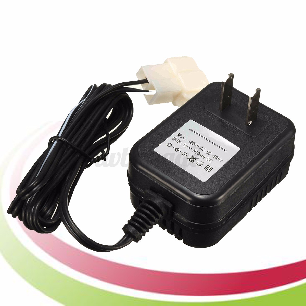 6v wall charger ac adapter for battery powered kid trax atv quad ride on car new ebay