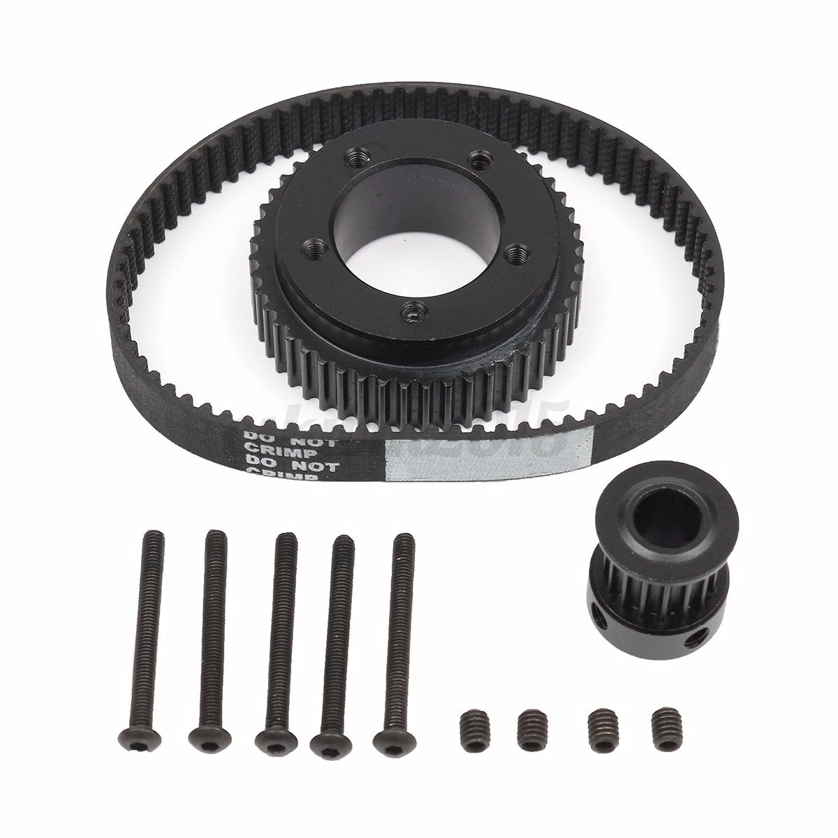 DIY-Electric-Skateboard-Flywheel-Pulley-Drive-Kit-10MM-Belt-For-72-70MM-Wheels