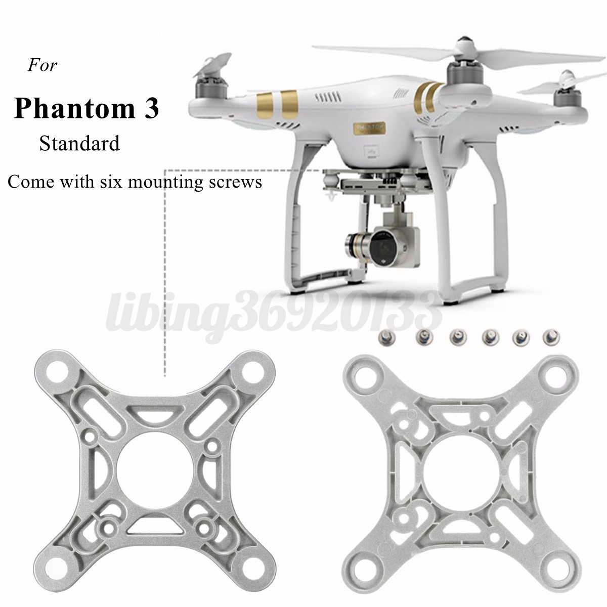 camera vibration absorbing board for dji phantom 3. Black Bedroom Furniture Sets. Home Design Ideas