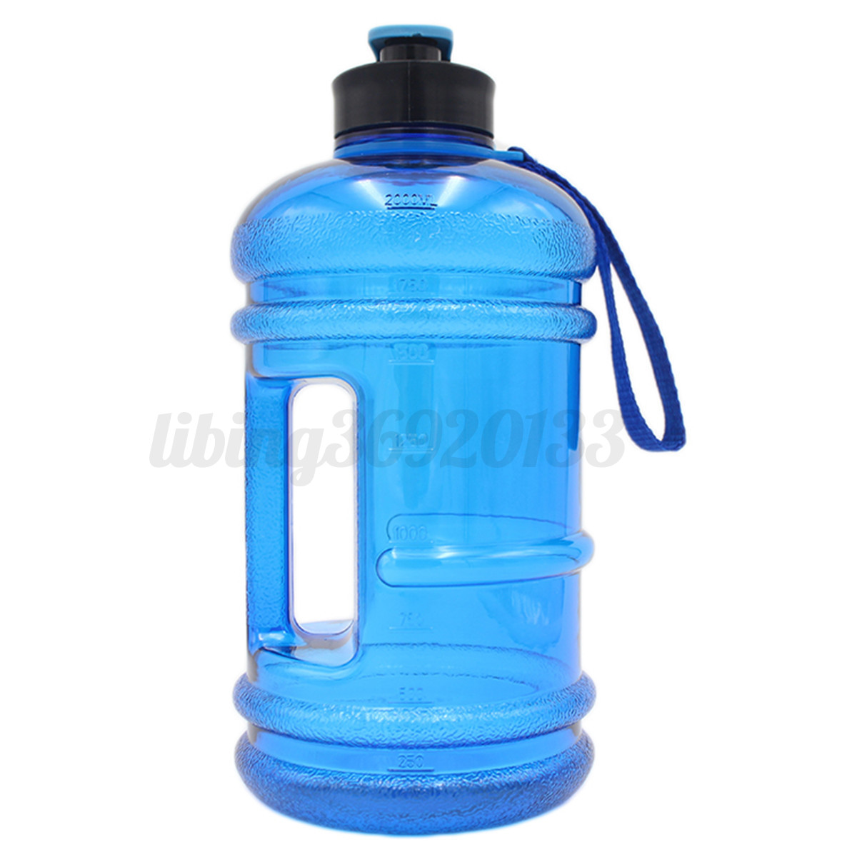 Water bottle for gym