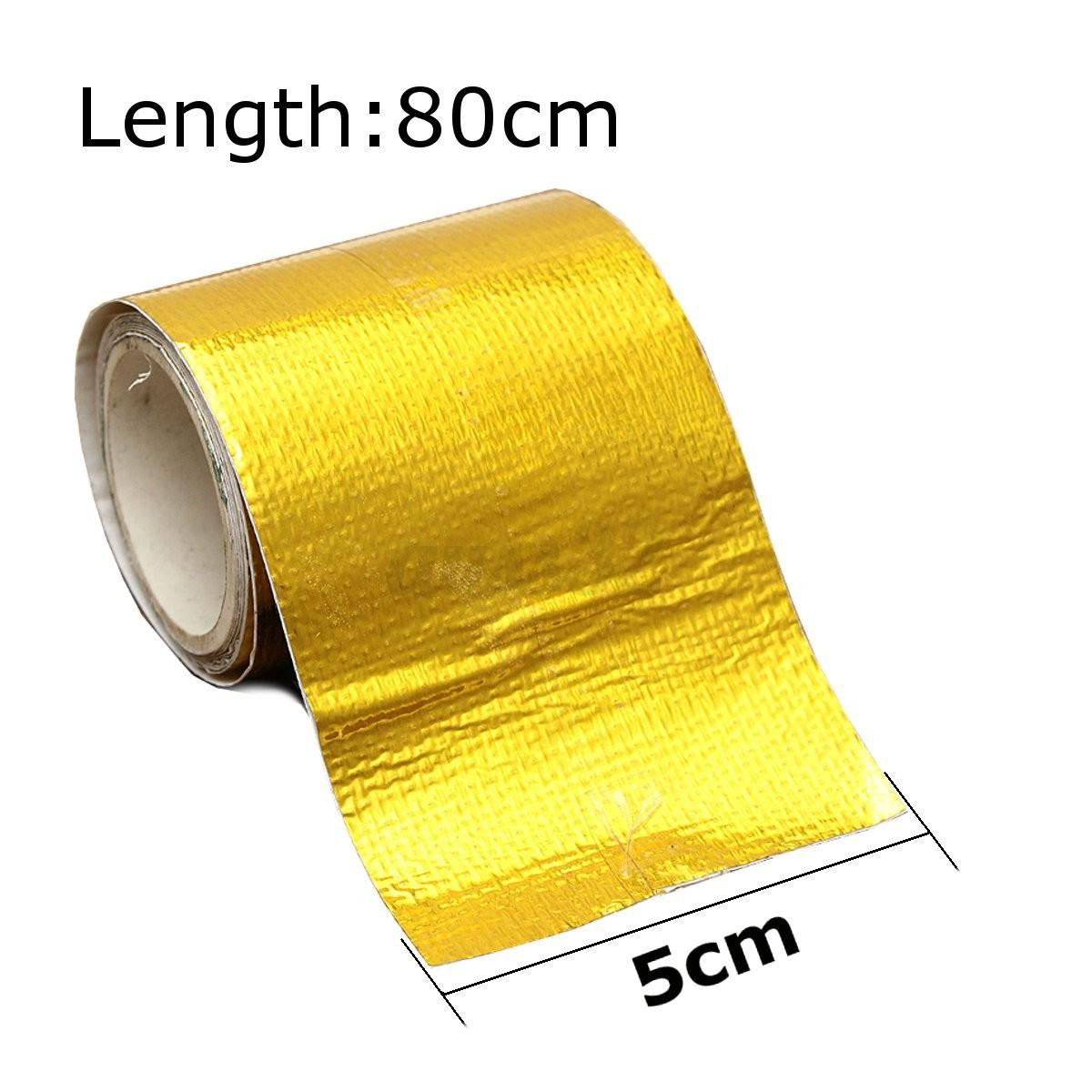 rouleau isolant thermique ruban bande tuyau d echappement adh sif tape wrap ebay. Black Bedroom Furniture Sets. Home Design Ideas