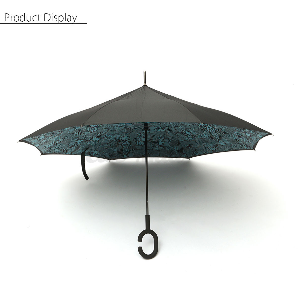 anti uv vent pluie soleil parapluie umbrella parasol invers double couche femme ebay. Black Bedroom Furniture Sets. Home Design Ideas