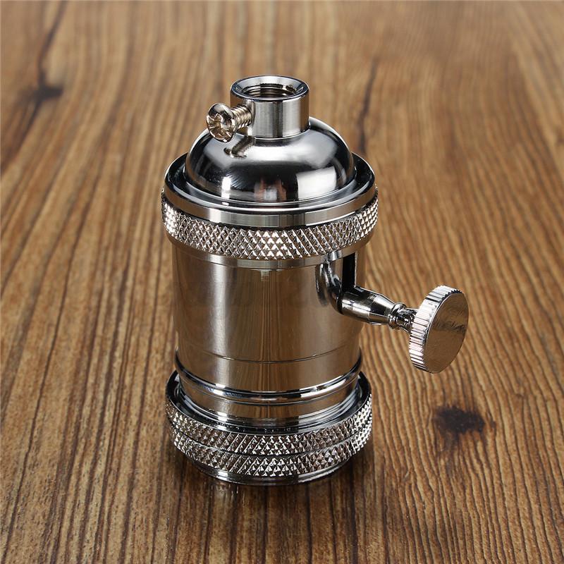 Vintage Industrial Light Switch: E26/E27 Retro Vintage Edison Industrial Lamp Light Bulb