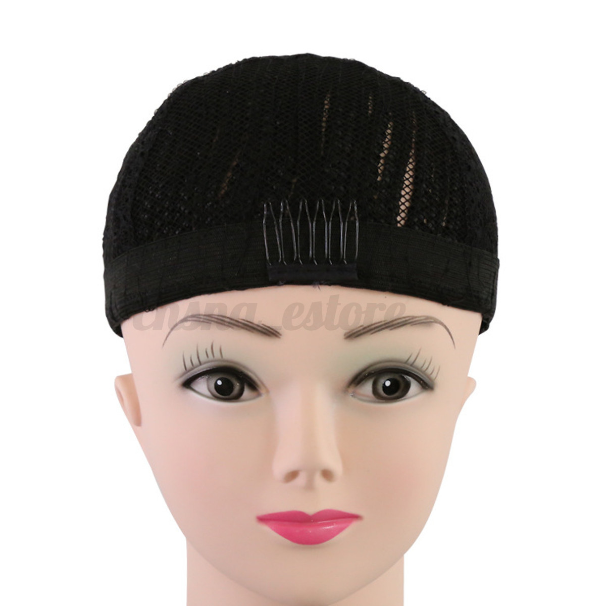 Paypal Help Usa Cornrow Braided Wig Cap Black Making Wigs With Clips