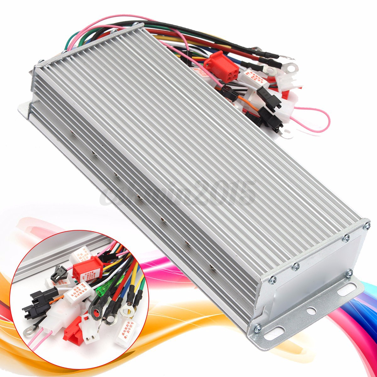 Dc 48v 1500w Electric Bicycle Brushless Motor Controller